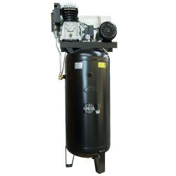 Compresor aer vertical industrial 200l, 4kW, 10bar, cu rezervor vertical